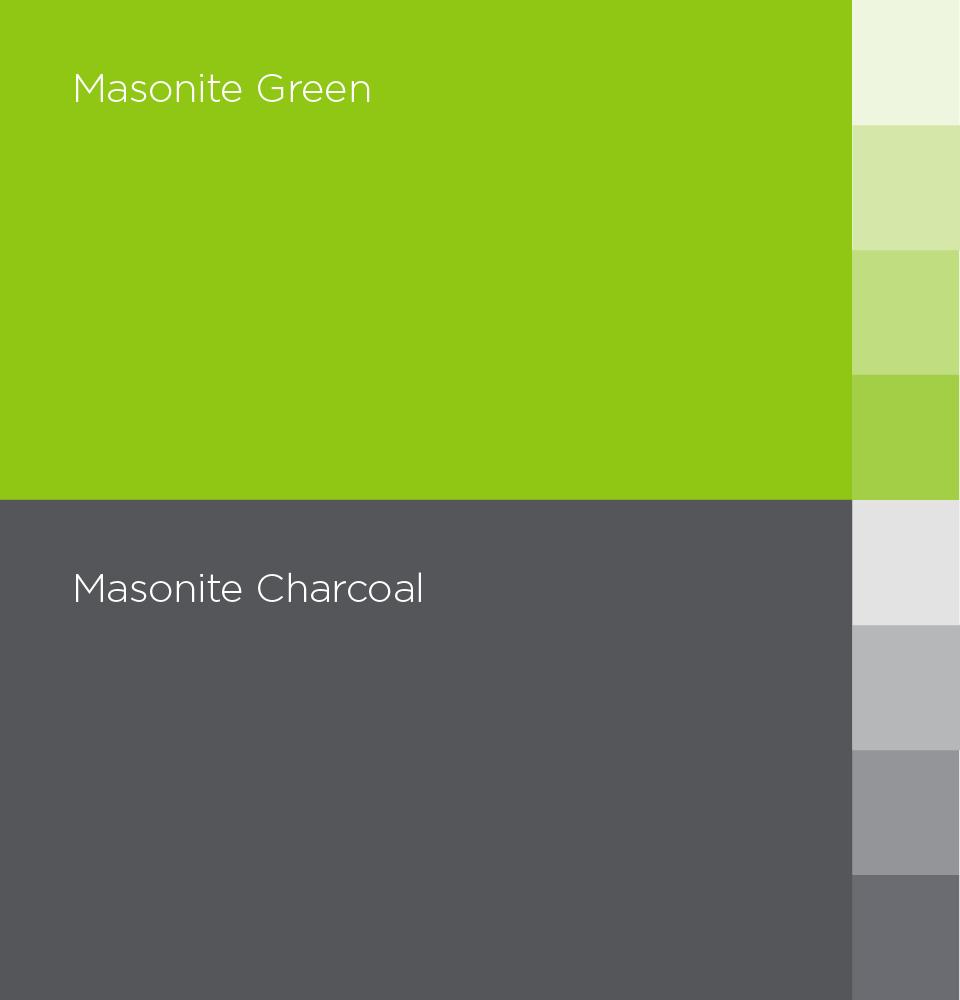Masonite brand colors