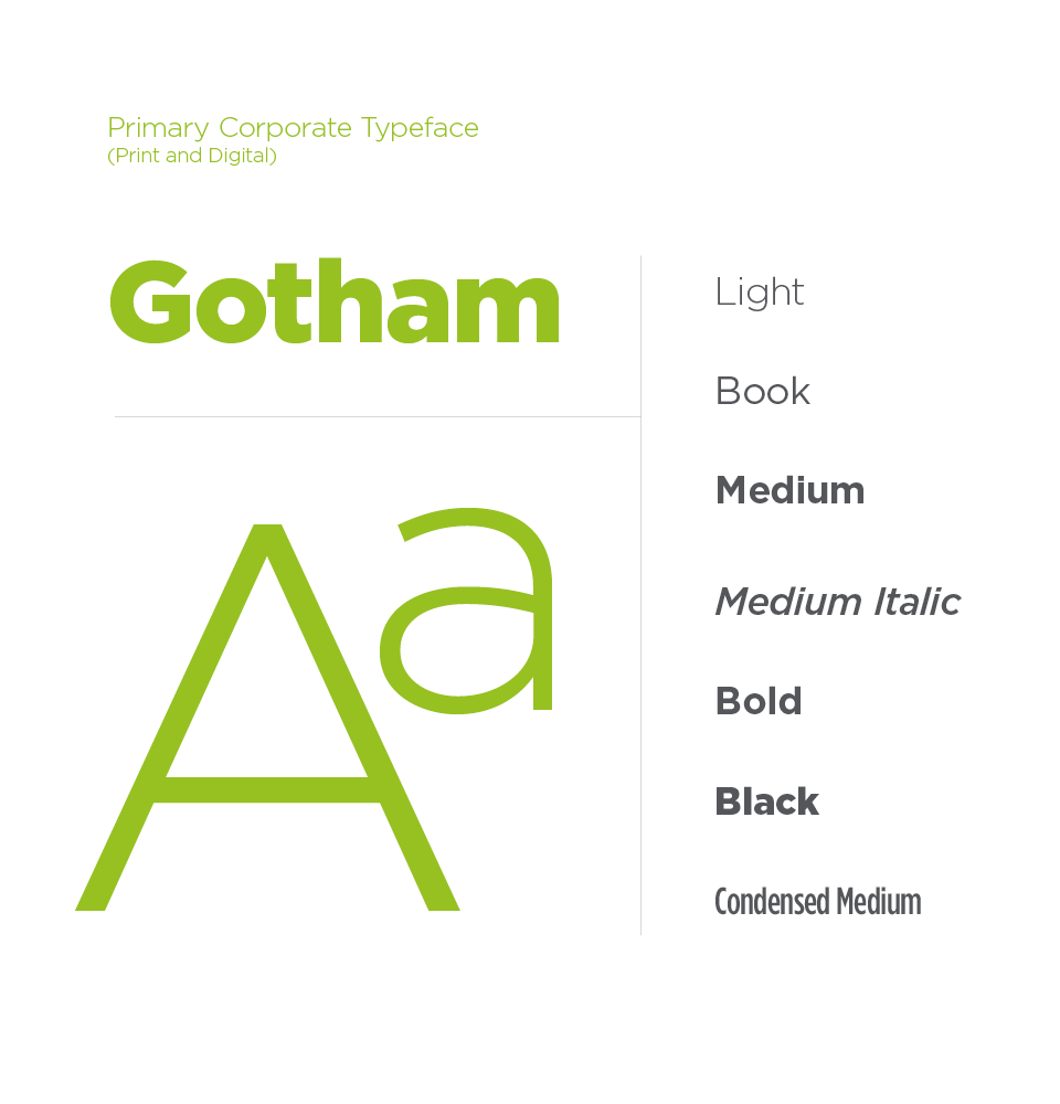 Masonite brand typography