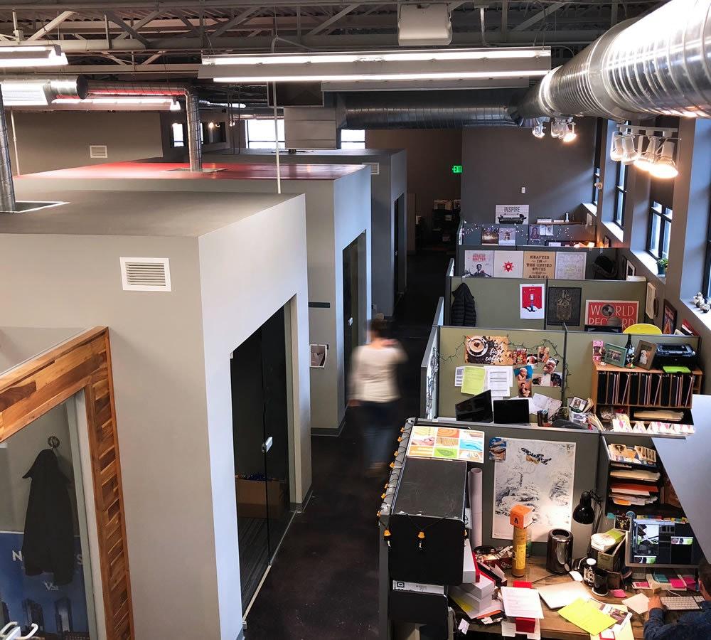 Interrupt office space